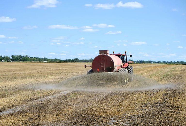 fertilizer spray